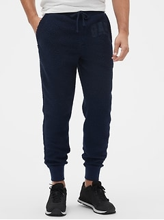 Gap Logo Sherpa Pull-On Joggers