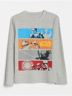 GapKids | Star Wars™ Graphic Long Sleeve T-Shirt