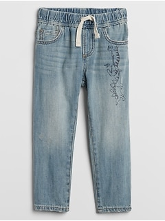 Toddler Pull-On Slim Jeans