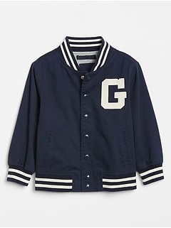 Toddler Gap Logo Varsity Jacket