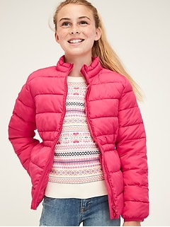 Kids Lightweight Puffer Jacket