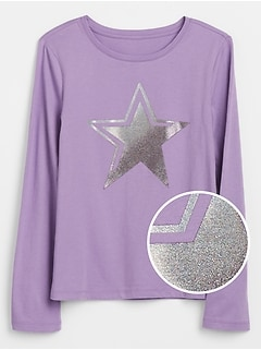Kids Embellished Graphic T-Shirt