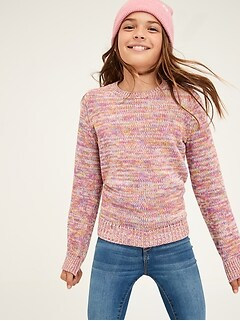 Kids Marled Sweater