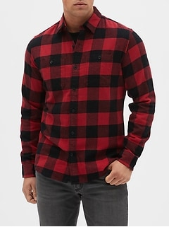 Flannel Shirt in Standard Fit
