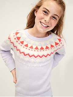 Kids Fair Isle Sweater