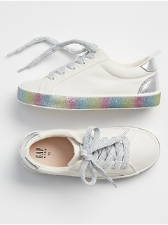 Kids Rainbow Sneakers