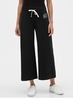 Gap Logo Wide Leg Pants