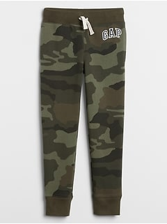 Kids Camo Pull-On Joggers