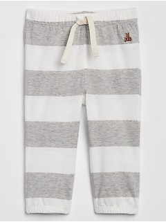 Baby Stripe Pull-On Pants