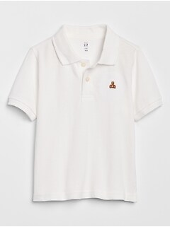 Toddler Short Sleeve Polo Shirt
