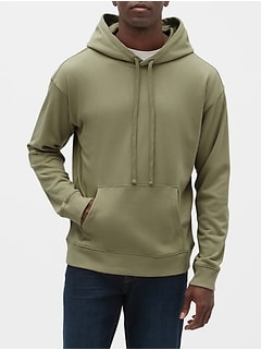Pullover Hoodie in French Terry
