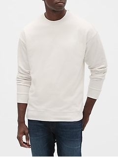 Crewneck Sweatshirt in French Terry