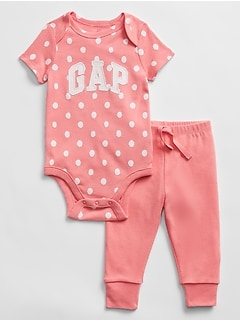 Baby Graphic Bodysuit Set