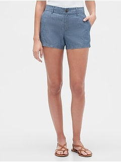 "3"" Shorts in Chambray"