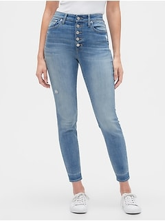 High Rise Curvy Legging Jeans