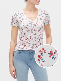 Favorite Print Short Sleeve T-Shirt