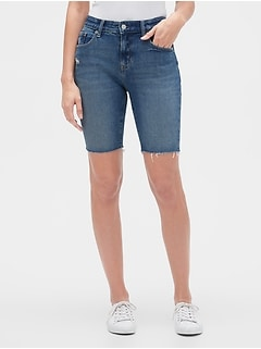 "9"" Denim Bermuda Shorts"