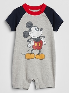 babyGap | Disney Mickey Mouse Shorty One-Piece