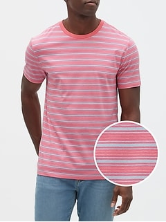 Stripe Short Sleeve T-Shirt