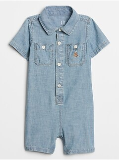 Baby Chambray One-Piece