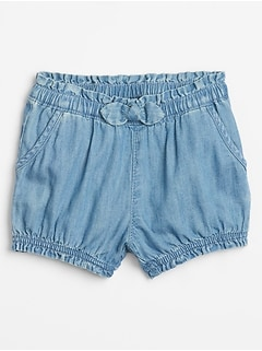 Baby Bubble Denim Shorts