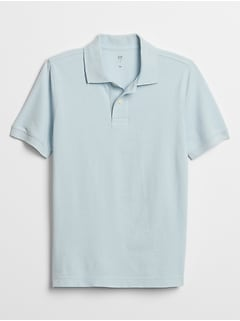 Kids Short Sleeve Polo Shirt