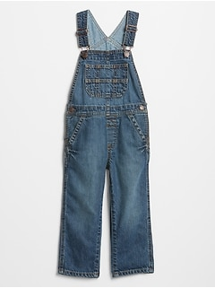 Toddler Denim Overalls
