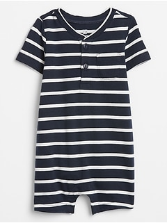 Baby Stripe Shorty One-Piece