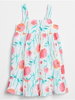 Toddler Print Tank Dress