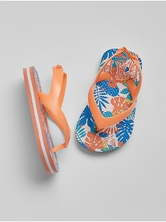 babyGap Logo Flip Flops