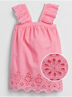 Baby Ruffled Eyelet Dress