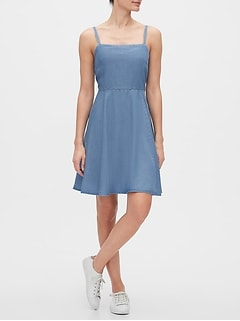 Fit and Flare Dress in TENCEL™
