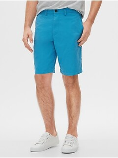 "10"" Essential Khaki Shorts"