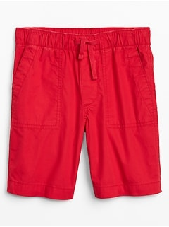 Kids Shorts in Poplin