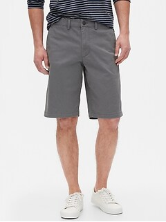 "12"" Essential Khaki Shorts"
