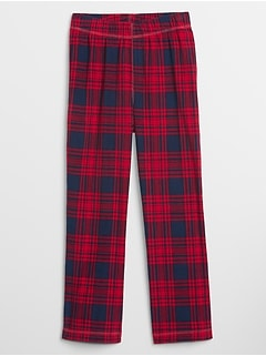 Kids Plaid PJ Pants