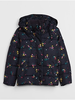 Kids Hooded Puffer Jacket