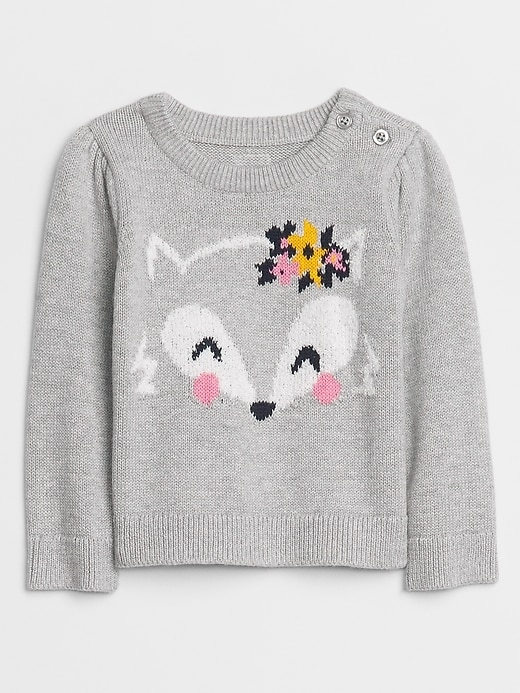 Baby Graphic Knit Sweater