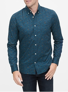 Poplin Shirt in Slim Fit