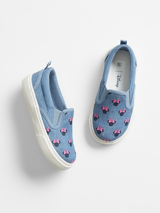 babyGap &#124 Chambray Slip-On Sneakers
