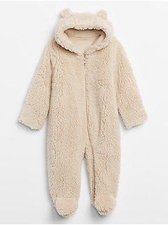 Baby Sherpa Bear One-Piece
