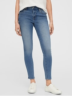 Mid Rise Universal Legging Jeans With Washwell™