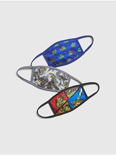 GapKids | Ninja Turtles Face Mask (3-Pack)