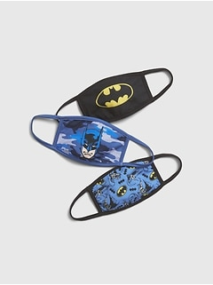 GapKids | Unisex DC ™ Batman Face Mask (3-pack)