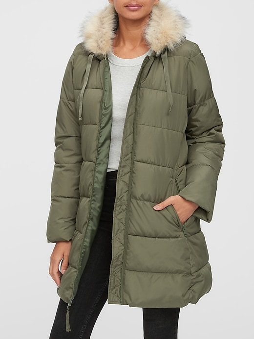 Gap Factory Women's ColdControl Max Puffer Jacket