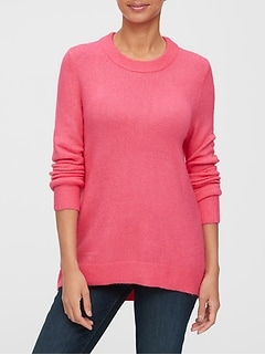Tunic Crewneck Sweater