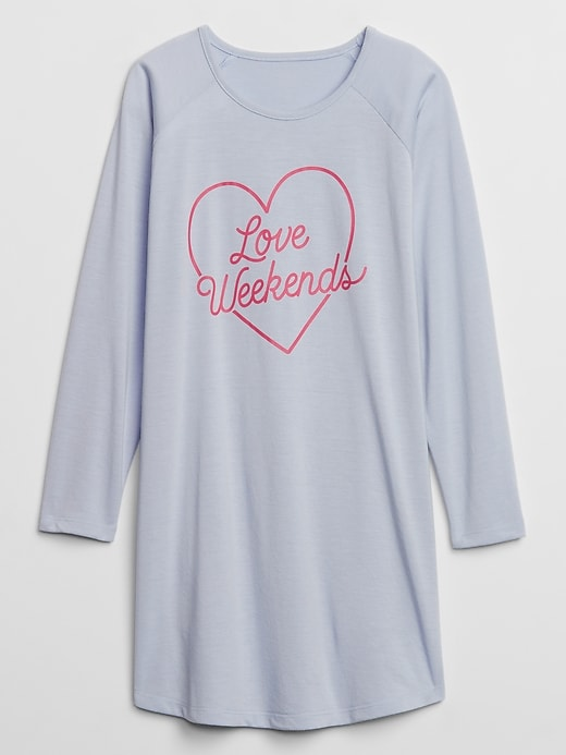 Gap Factory Kids Graphic Nightgown