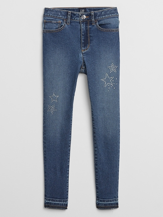 Kids High Rise Ankle Legging Jean With Washwell&#153