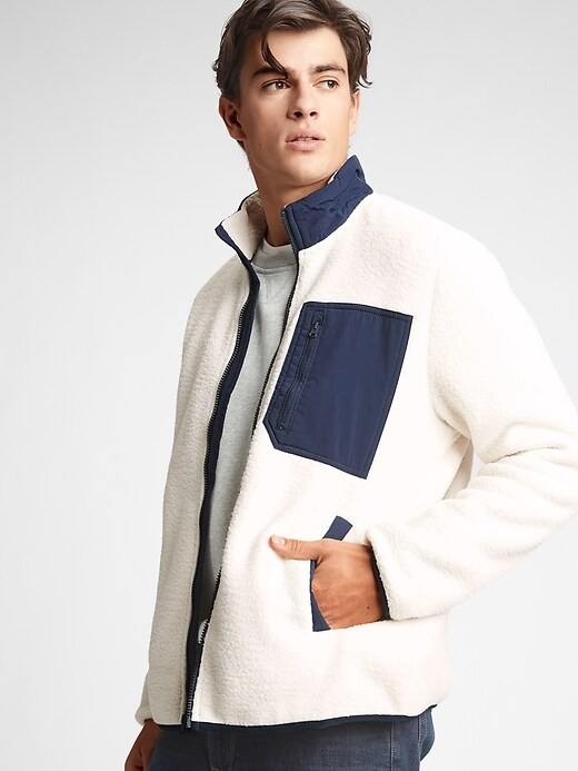 Gap Factory Men's Sherpa Jacket