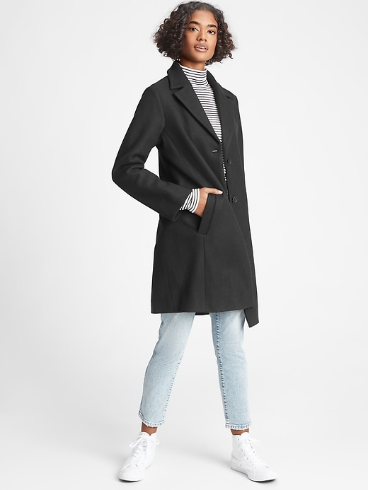 Gap Factory Long Top Coat